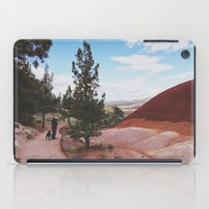 Man and His Dog at Painted Hills  iPad Case