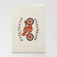 Ever Faster Never Fails : Motorcycle Stationery Cards
