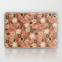 Festive Florals (Oranges) Laptop & iPad Skin