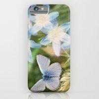 Butterfly :: Blue Sky Wings iPhone 6 Slim Case