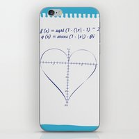Love Equation iPhone & iPod Skin