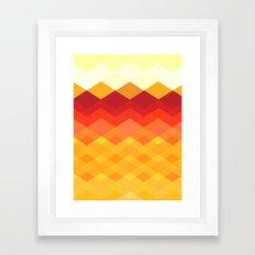 Against the Sun Framed Art Print