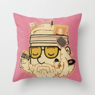 Throw Pillow featuring The Baumer by Derek Eads