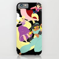 iPhone & iPod Case featuring Super Princesses  by Tella