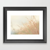 Blowing In The Wind Framed Art Print