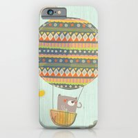 iPhone & iPod Case featuring Bear in the air by Berreca