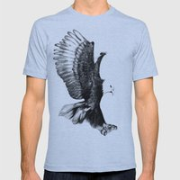 Soaring Eagle Mens Fitted Tee Athletic Blue SMALL