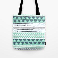 Winter Stripe Tote Bag