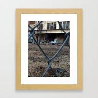 The Silver Hobby Horse 1 Framed Art Print