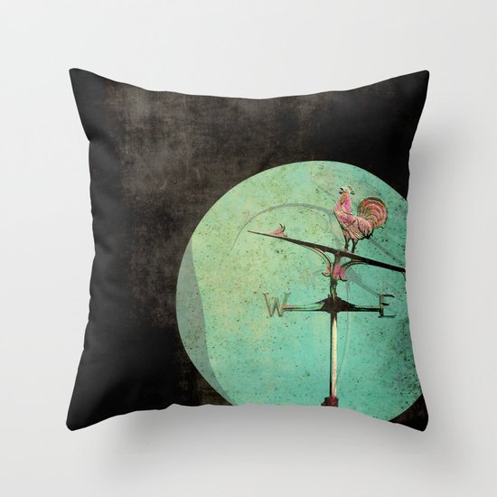 The Tale of a Weathervane Throw Pillow