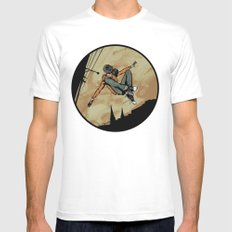 Leroy! Mens Fitted Tee White SMALL
