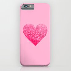 PINK PINK HEART Slim Case iPhone 6s