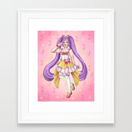 Capisce! Framed Art Print