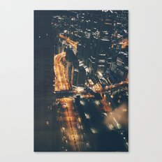 Streamed Canvas Print