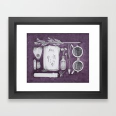 witch's bag Framed Art Print