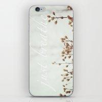 Just Breathe iPhone & iPod Skin