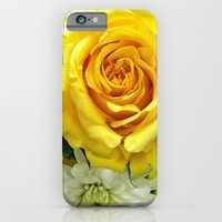 iPhone & iPod Case featuring Yellow Flowers by laurmatay