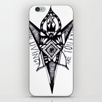 are you living or are you existing? iPhone & iPod Skin
