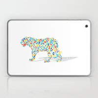 Technicolor Jaguar Laptop & iPad Skin