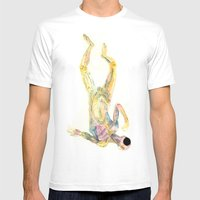 Cuerpo 02 Mens Fitted Tee White SMALL