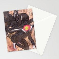 Capricorn, The Ambitious Goat: Dec 22 - Jan 20 / Original Gouache On Paper Stationery Cards