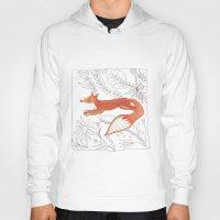 Decorative Fox Hoody