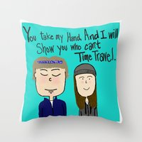 I Will Show You Who Can'… Throw Pillow