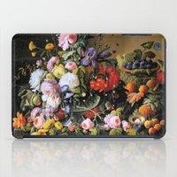 Vintage Varnish- Flowers… iPad Case