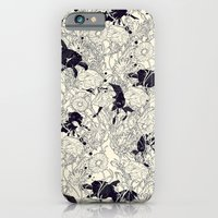 floral iPhone & iPod Cases featuring Hide and Seek by nicebleed