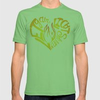 Shine Mens Fitted Tee Grass SMALL