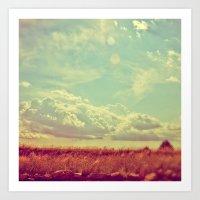 Shooting The Breeze 2.0 Art Print