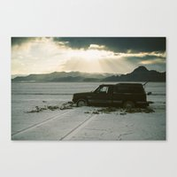 A Salt Place  Canvas Print
