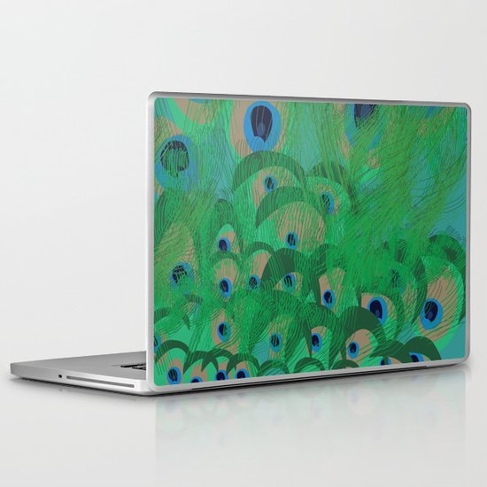 Peacock Laptop & iPad Skin