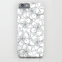 Cherry Blossom Blue - In Memory of Mackenzie iPhone 6 Slim Case