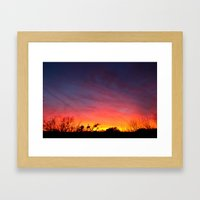 This place needs more poetry. Framed Art Print