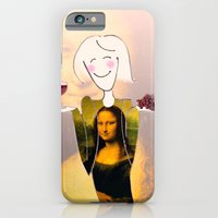 iPhone & iPod Case featuring She Hearts Mona by Cynthia