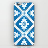 NavNa Blue iPhone & iPod Skin
