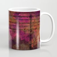 Lined Rainbow Rusted Met… Mug