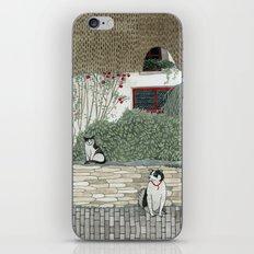 Red Door Cottage iPhone & iPod Skin