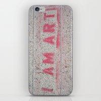 I Am Art iPhone & iPod Skin
