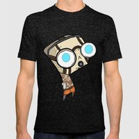 Borderlands Bandit GIR Mens Fitted Tee Tri-Black SMALL