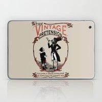 Ye Oldé Vintage Pretens… Laptop & iPad Skin