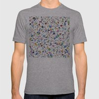 300 Mens Fitted Tee Athletic Grey SMALL