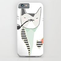 iPhone & iPod Case featuring Monsieur Pops by Rive Gauche Craft