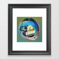 The Abstract Dream 14 Framed Art Print