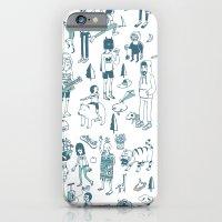 Crowd Pattern iPhone 6 Slim Case