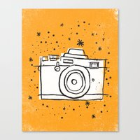 SNAP Canvas Print