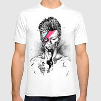 Zombowie Mens Fitted Tee White SMALL
