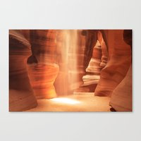Inner Glow - Antelope Canyon Canvas Print