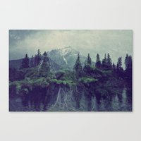 Let Your Roots Grow Canvas Print